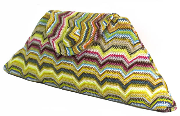 Bow Clutch Missoni by Catherine Aitken