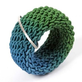 Tug bangle by Gilly Langton